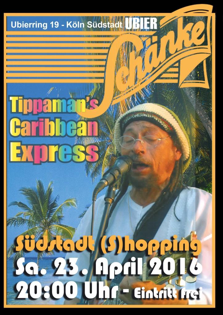 Tippamann`s Caribbean Express rockt die Südstadt